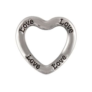 Picture of 'Love' Large Silver Heart Frame
